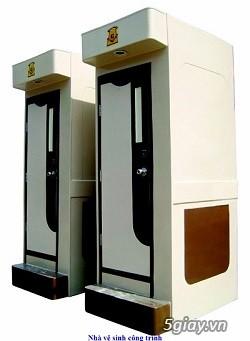 Nhà vệ sinh composite (công cộng – di động – lưu động) dịp cuối năm 2015