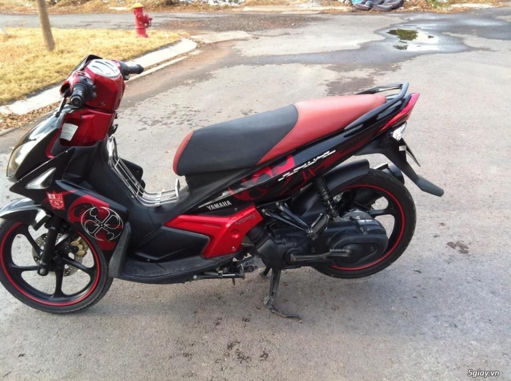 Nouvo LX 135 đỏ đen Limited leng keng máy mạnh êm ko hú ngay chủ - 1