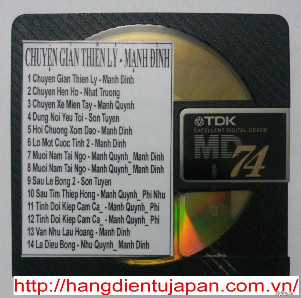 Đĩa nhạc MD - chuyên bán - 17