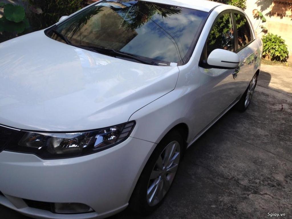 Kia Forte MT màu trắng 2012 - 1