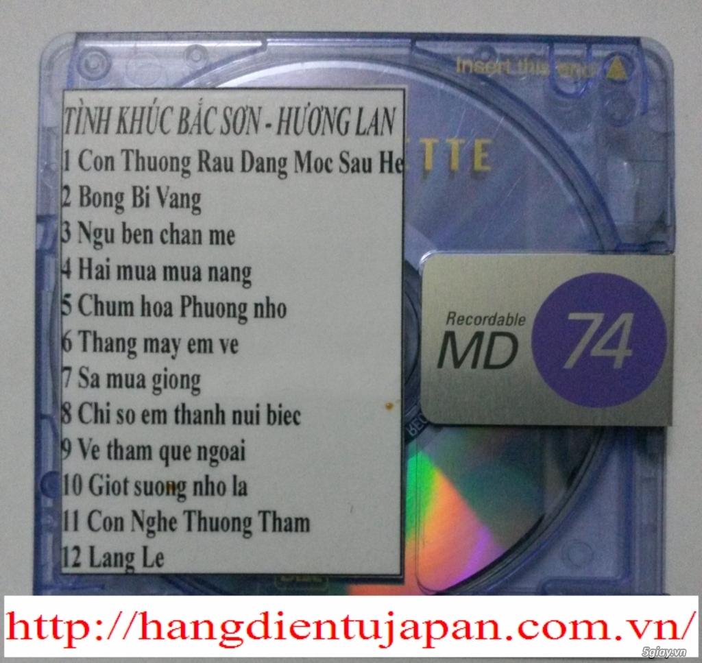 Đĩa nhạc MD - chuyên bán - 9
