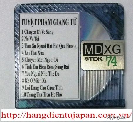 Đĩa nhạc MD - chuyên bán - 4