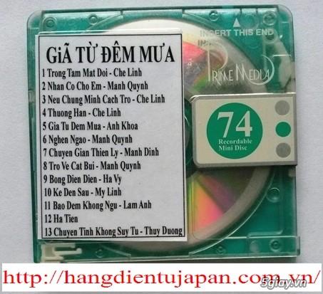 Đĩa nhạc MD - chuyên bán - 8