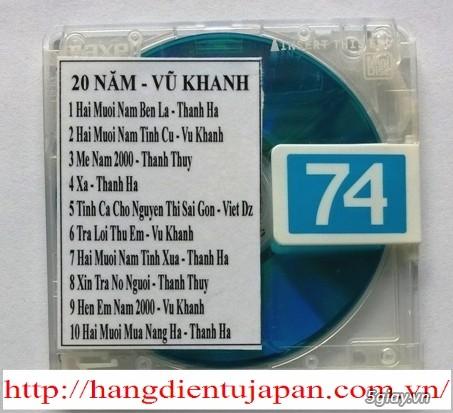 Đĩa nhạc MD - chuyên bán - 1