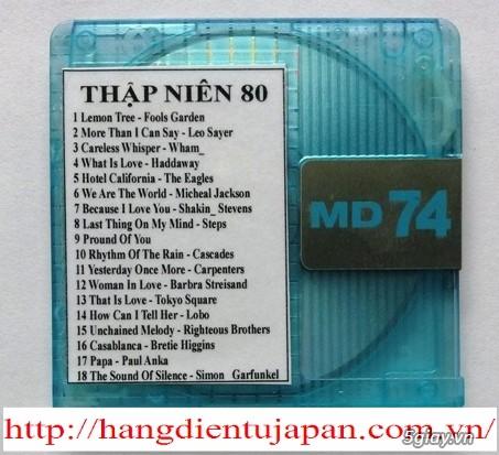 Đĩa nhạc MD - chuyên bán - 2