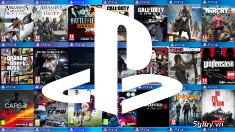Game PS3, PS4 copy và Digital