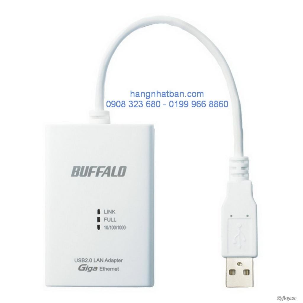 Chuột  không dây công nghệ BlueLED Focus Buffalo. chuyển đổi USB ra LAN...Hàng về từ Nhật giá good. - 15