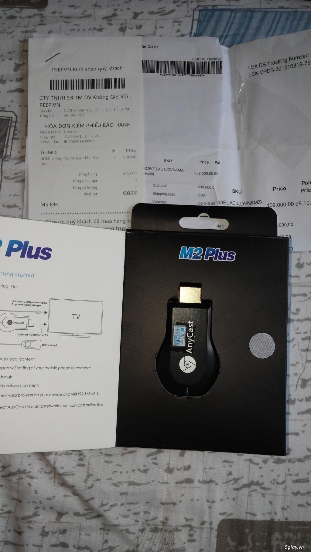 Logitech Z623 chính hãng Nguyễn Kim + Anycast M2 plus, giá SV - 3