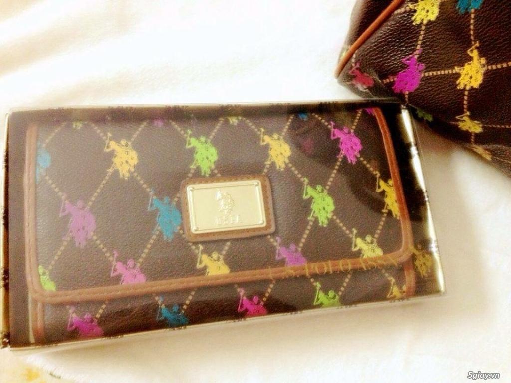 Bộ đôi túi ví POLO hàng xách tay từ Mỹ - 1