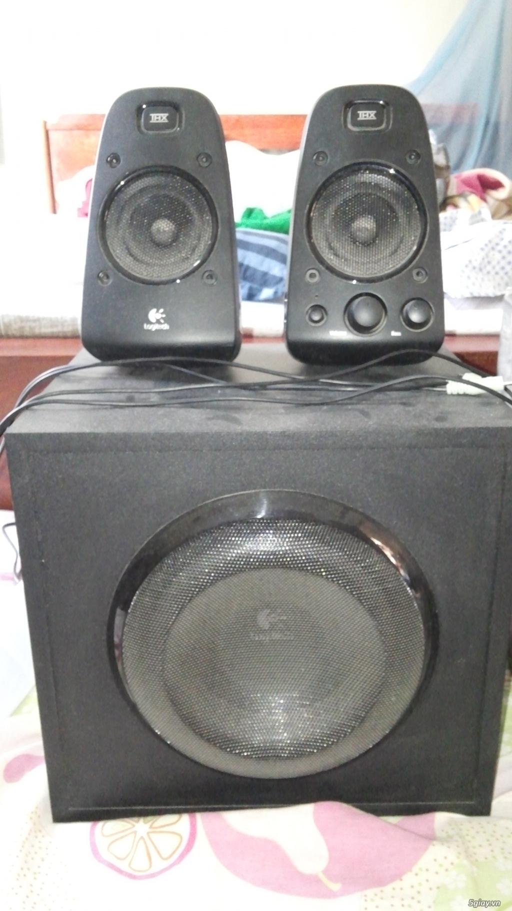 Bán loa Logitech Z623 + Anycast M2 Plus, Giá SV