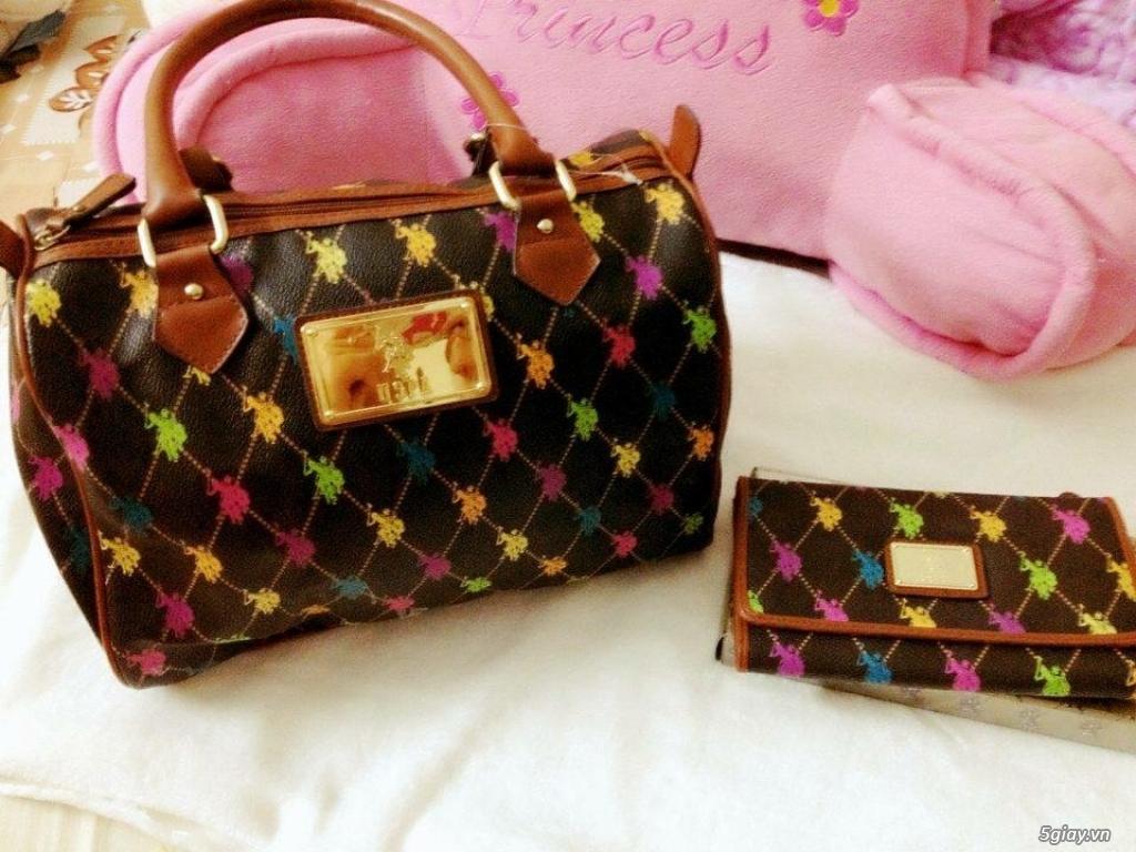 Bộ đôi túi ví POLO hàng xách tay từ Mỹ