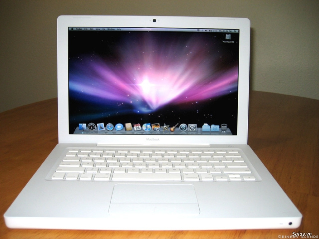 Macbook White 2006 5giay