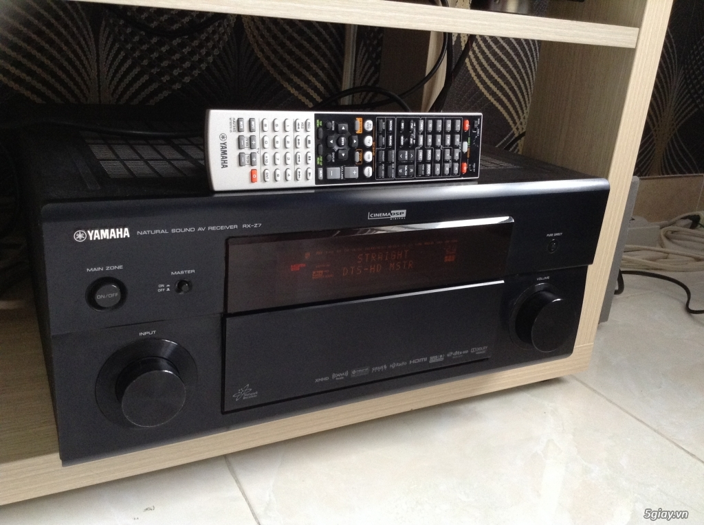 cd-marantz-6004-marantz-na-7004-bluray-sony-yamaha rx-a1040-loa cột-center-surround - 4