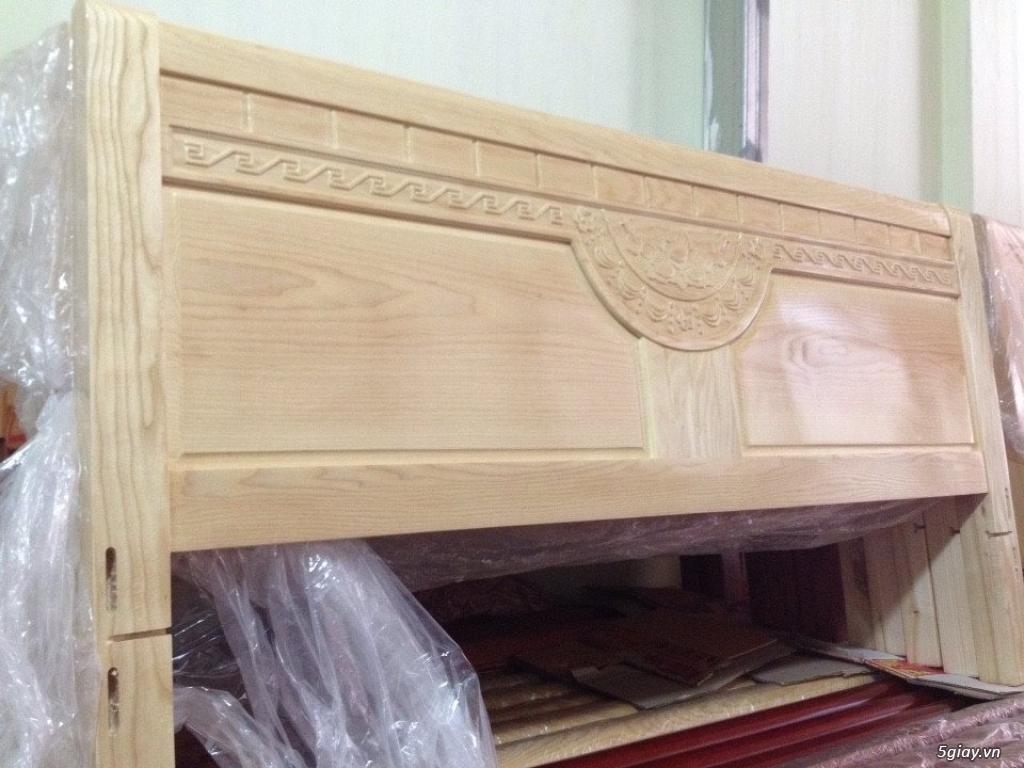 Giường  tủ salon gỗ tự nhiên bền đẹp giá siêu rẻ - 2