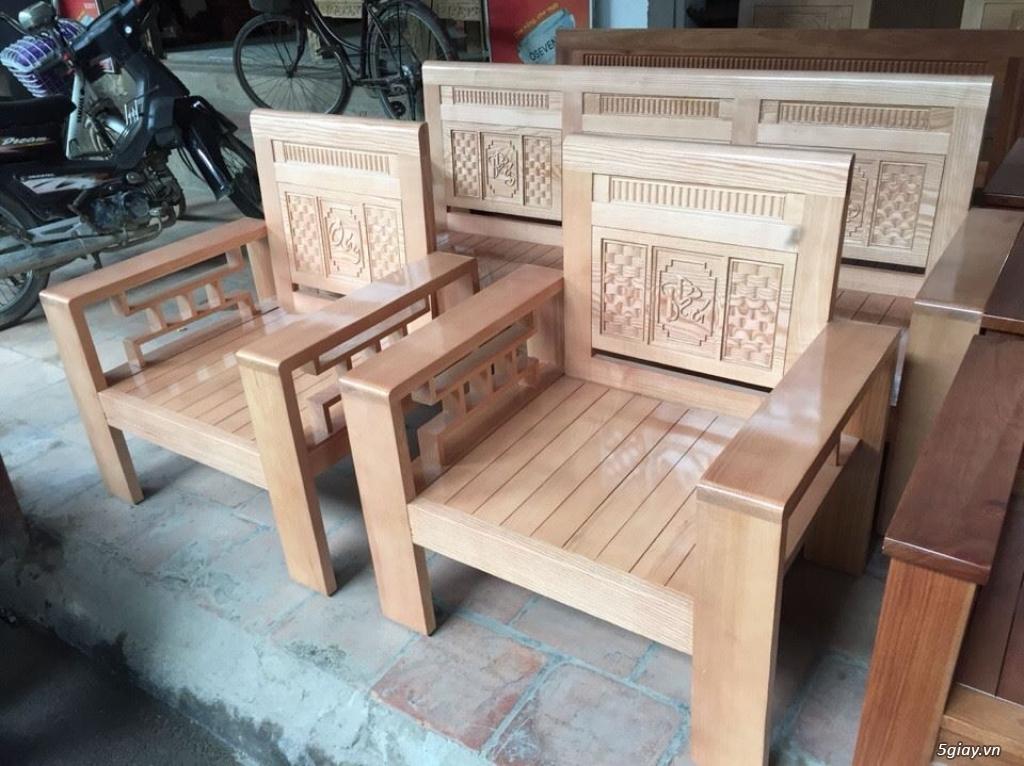 Giường  tủ salon gỗ tự nhiên bền đẹp giá siêu rẻ - 14