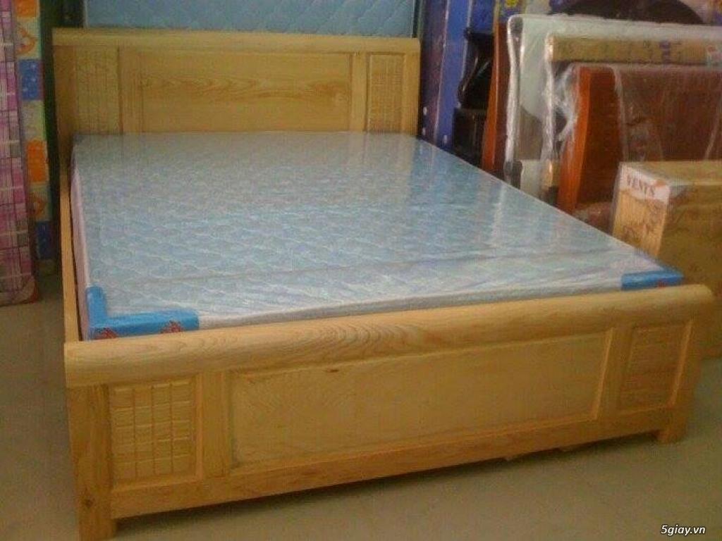 Giường  tủ salon gỗ tự nhiên bền đẹp giá siêu rẻ