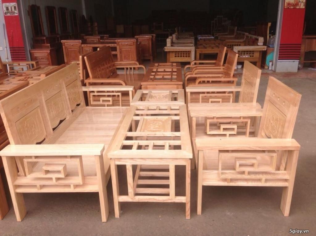 Giường  tủ salon gỗ tự nhiên bền đẹp giá siêu rẻ - 13