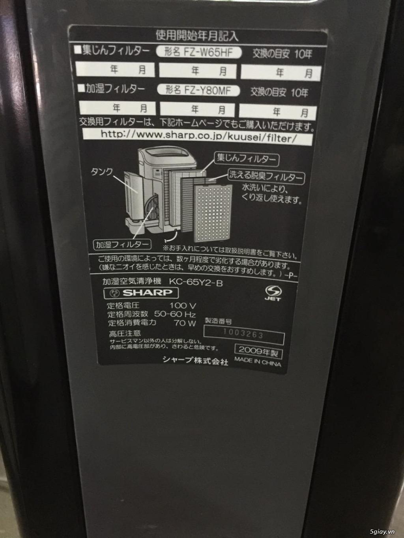 Máy Lọc Không Khí Tạo Ẩm Hàng Nội Địa Nhật GIÁ TỐT | NANOe-G  - Plasmacluster 7000 - 27