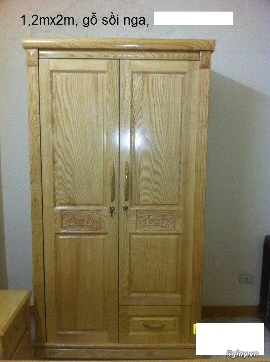 Giường  tủ salon gỗ tự nhiên bền đẹp giá siêu rẻ - 10