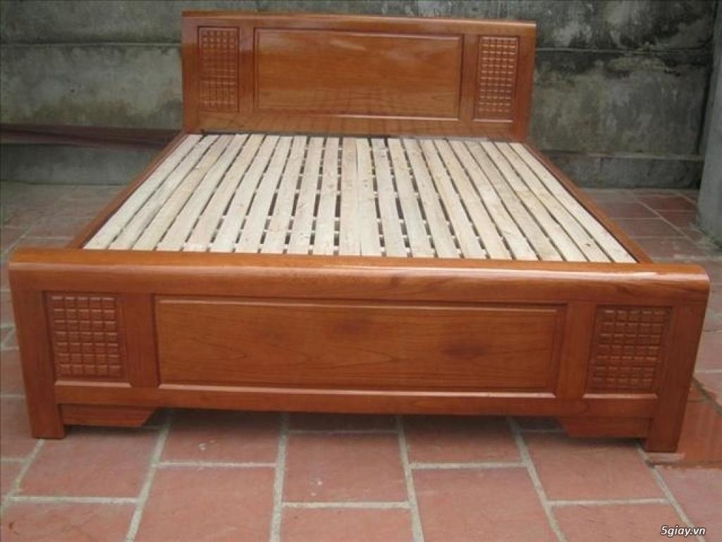 Giường  tủ salon gỗ tự nhiên bền đẹp giá siêu rẻ - 3