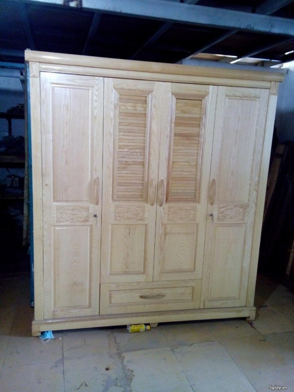 Giường  tủ salon gỗ tự nhiên bền đẹp giá siêu rẻ - 9