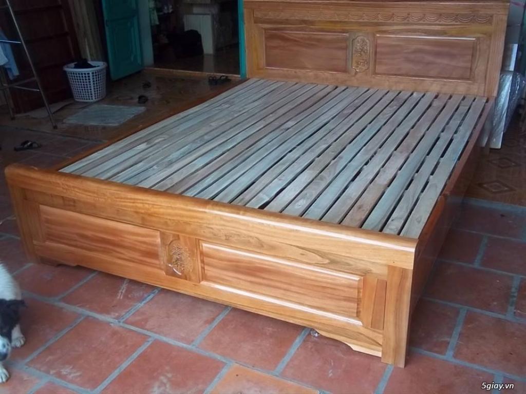 Giường  tủ salon gỗ tự nhiên bền đẹp giá siêu rẻ - 6