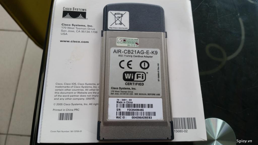 Cisco air cb21ag e k9