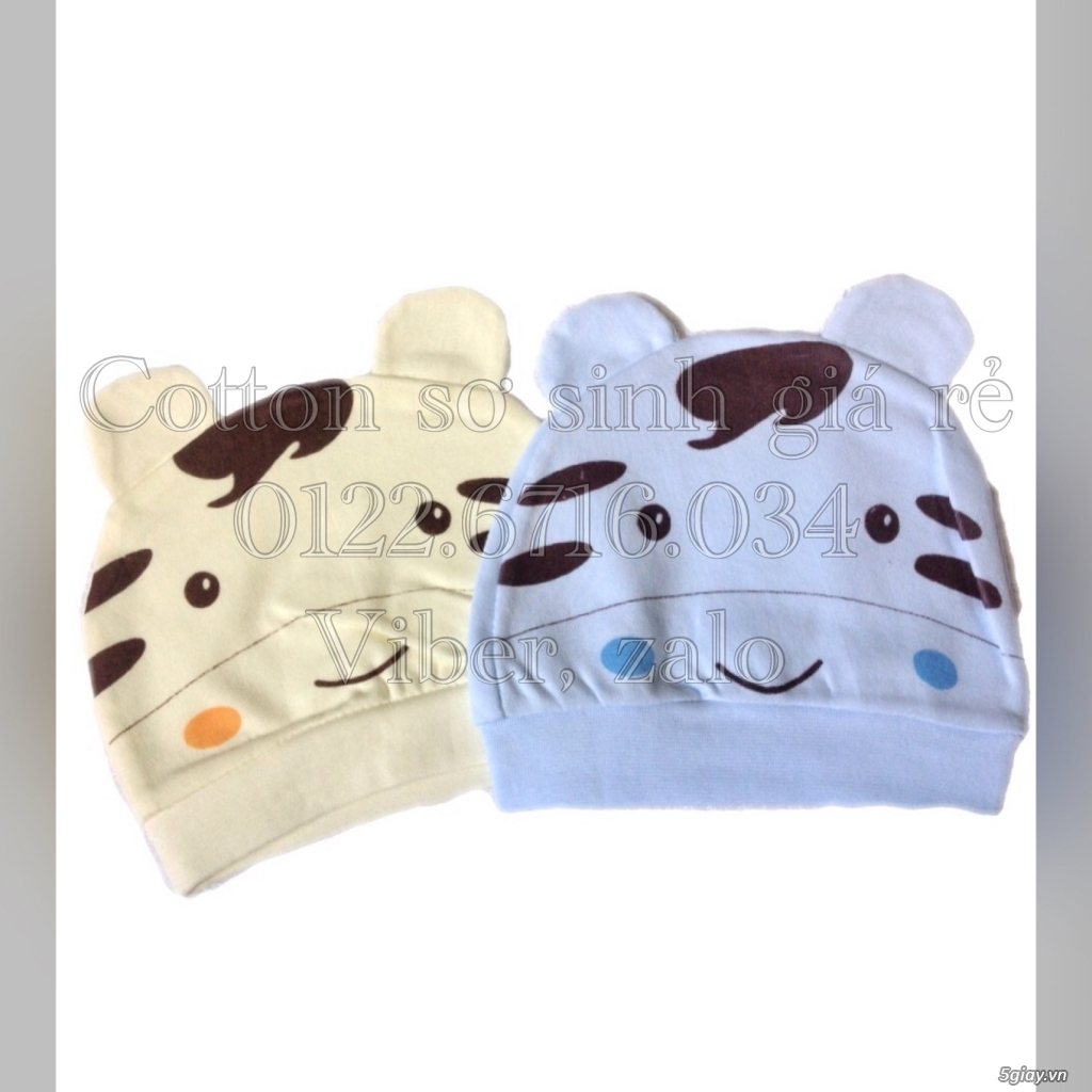Áo quần cotton trẻ sơ sinh 12k, nón khăn bao tay chân, vớ giá rẻ new 100% hàng mới update - 41
