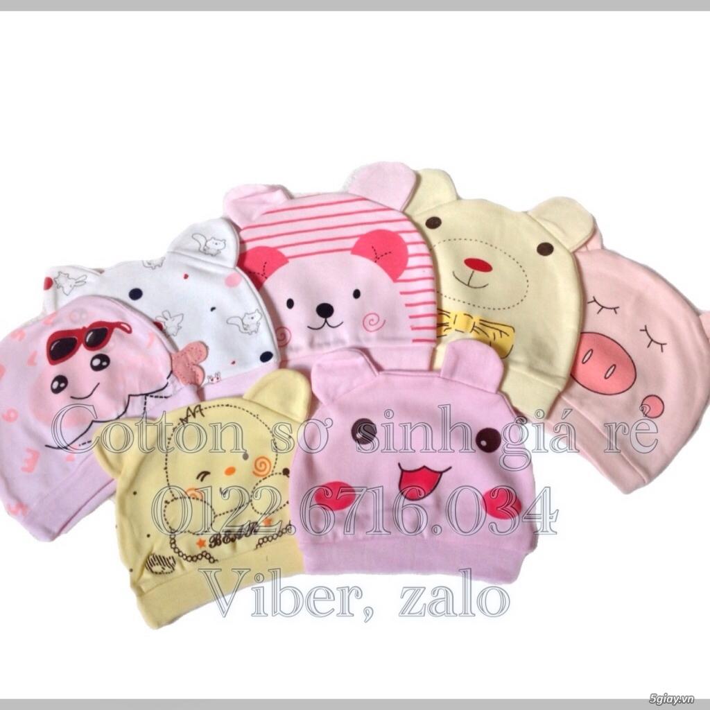 Áo quần cotton trẻ sơ sinh 12k, nón khăn bao tay chân, vớ giá rẻ new 100% hàng mới update - 40