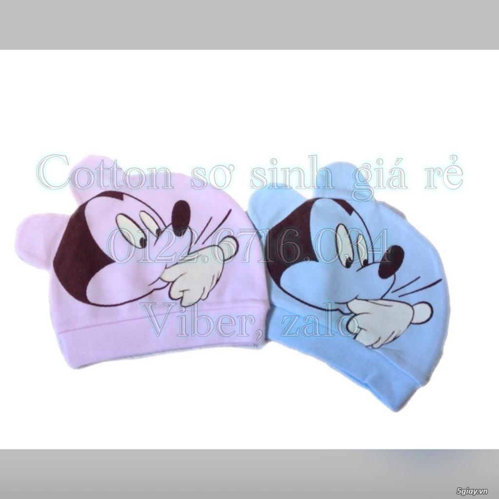 Áo quần cotton trẻ sơ sinh 12k, nón khăn bao tay chân, vớ giá rẻ new 100% hàng mới update - 38