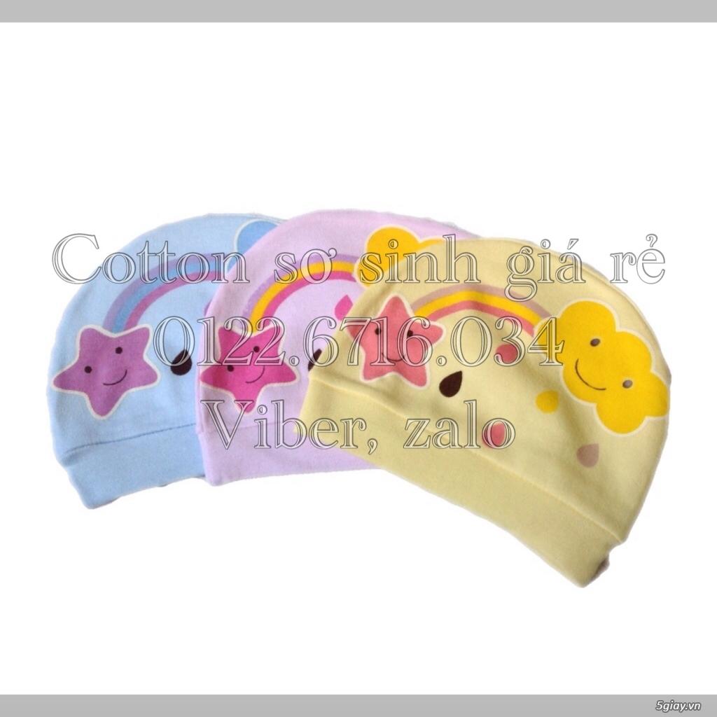 Áo quần cotton trẻ sơ sinh 12k, nón khăn bao tay chân, vớ giá rẻ new 100% hàng mới update - 39