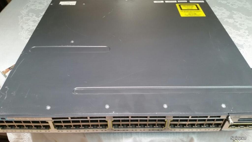 Switch cisco 3750x - 48port - 1