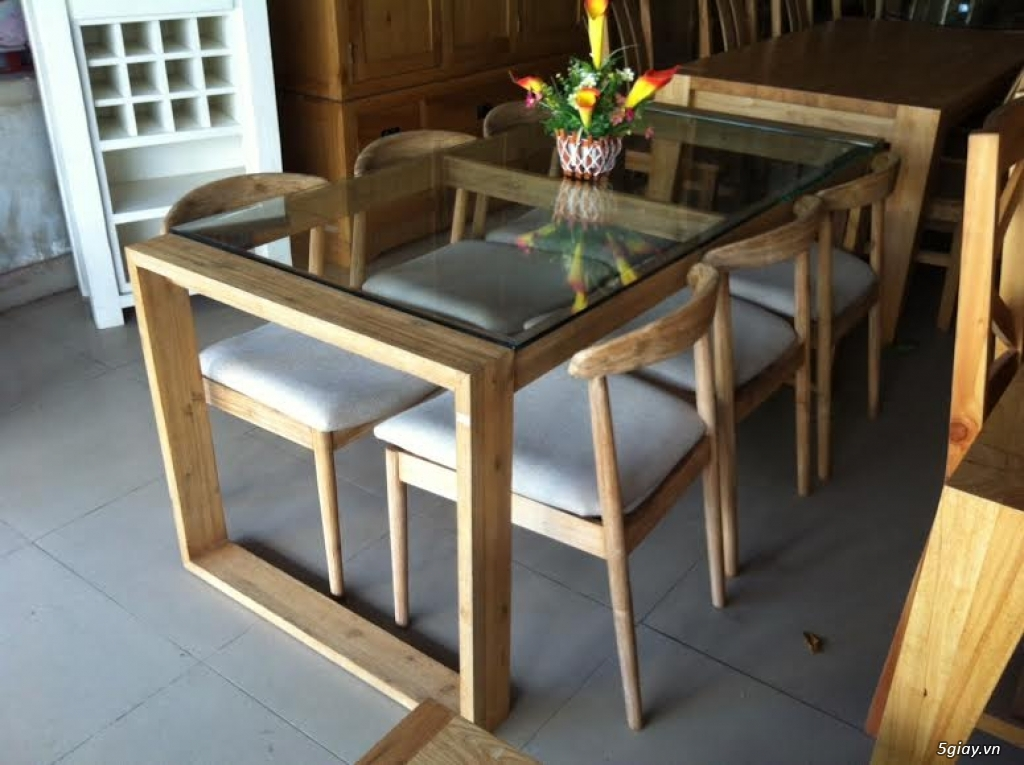 Bàn ghế giường tủ gỗ sồi Mỹ và Nga giá tốt nhất Sài Gòn - 37