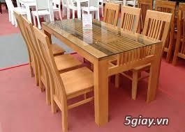 Bàn ghế giường tủ gỗ sồi Mỹ và Nga giá tốt nhất Sài Gòn - 26
