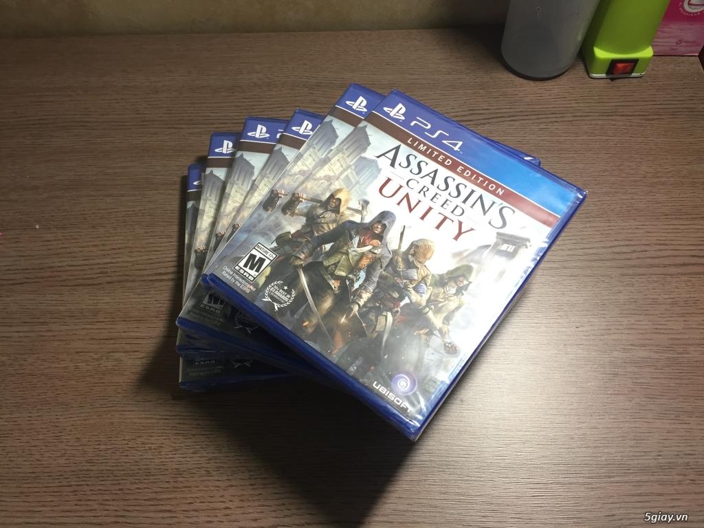 Đĩa Game PS4 New - Nguyên Seal 550K