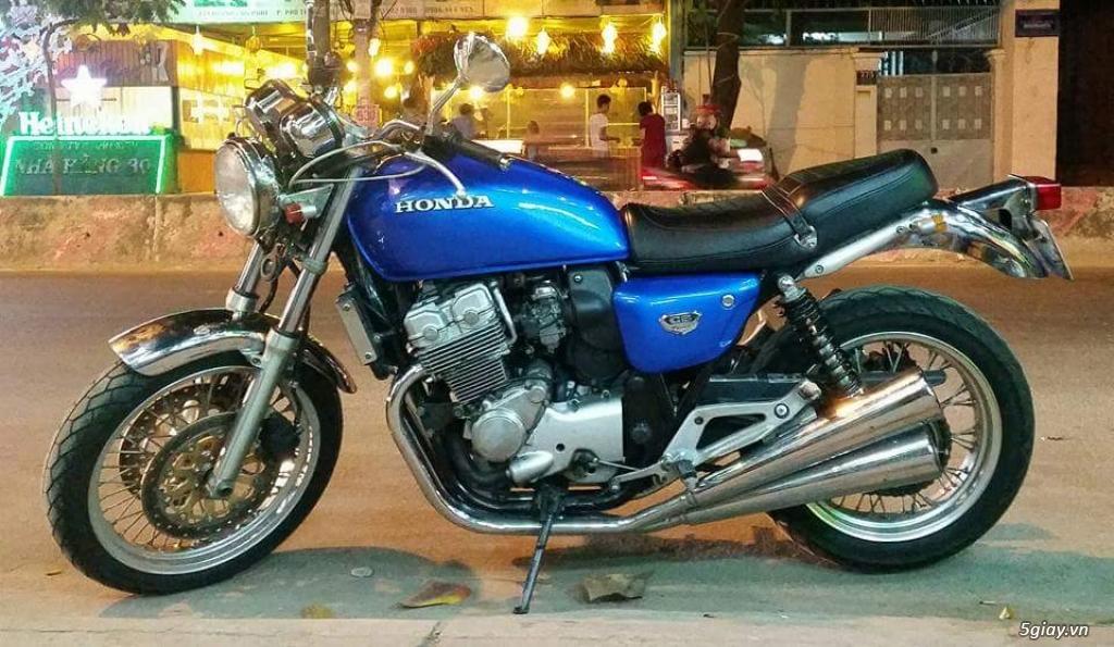 Honda cb400four NC36 đời 1997 xanh   5giay