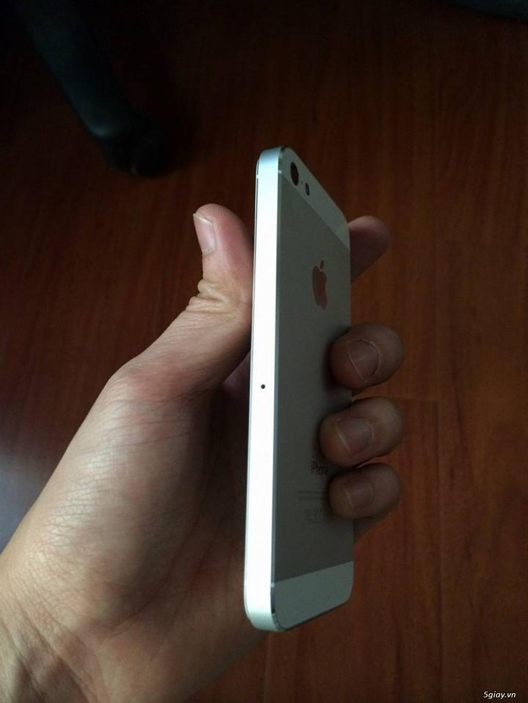 iPhone 5 32GB Trắng Quốc Tế máy đẹp keng xà beng 99,99% giá cực yêu chỉ 3tr... - 3