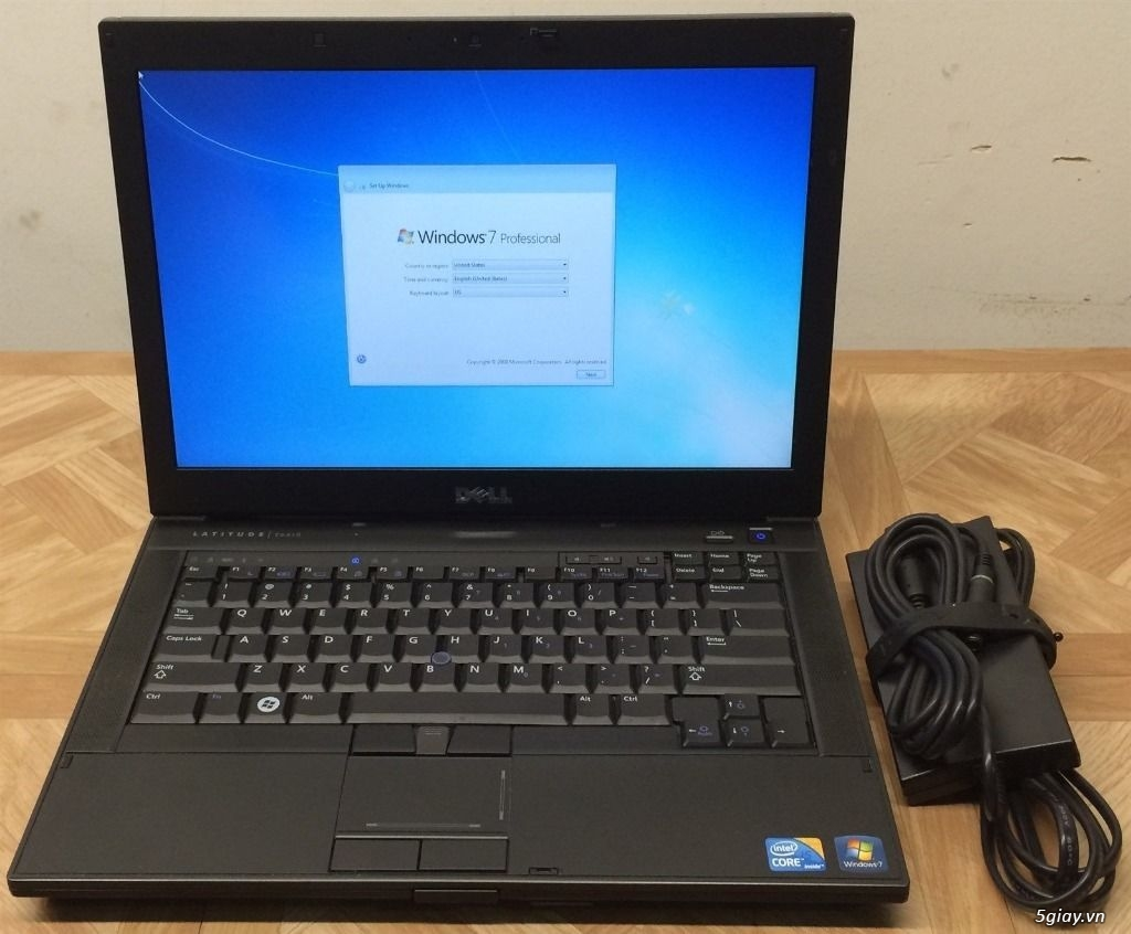 (6.3 Trieu)Dell Latitude E6410 (Intel Core i7- Q720 2.66GHz, 4GB RAM, 500GB HDD VGA) - 1