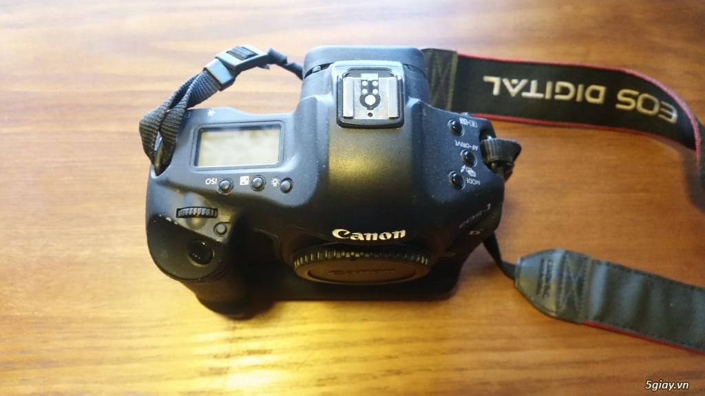 Thanh lý thiết bị 1D3 canon + 70-200 sigma + 18-35 sigma
