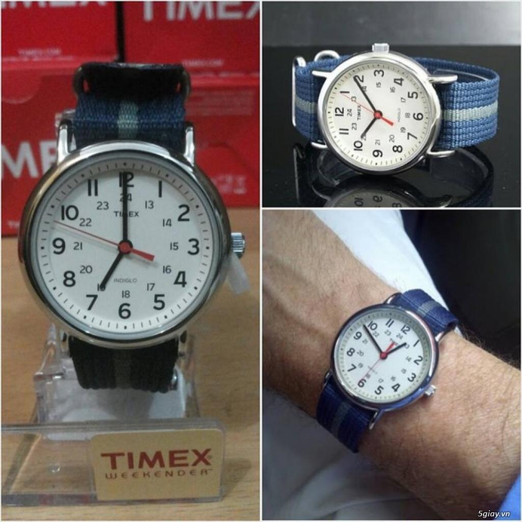 Đồng hồ Timex Expedition, Timex Scout, Timex Weekender - brand-new 100% - nguyên seal điều khiển - 8