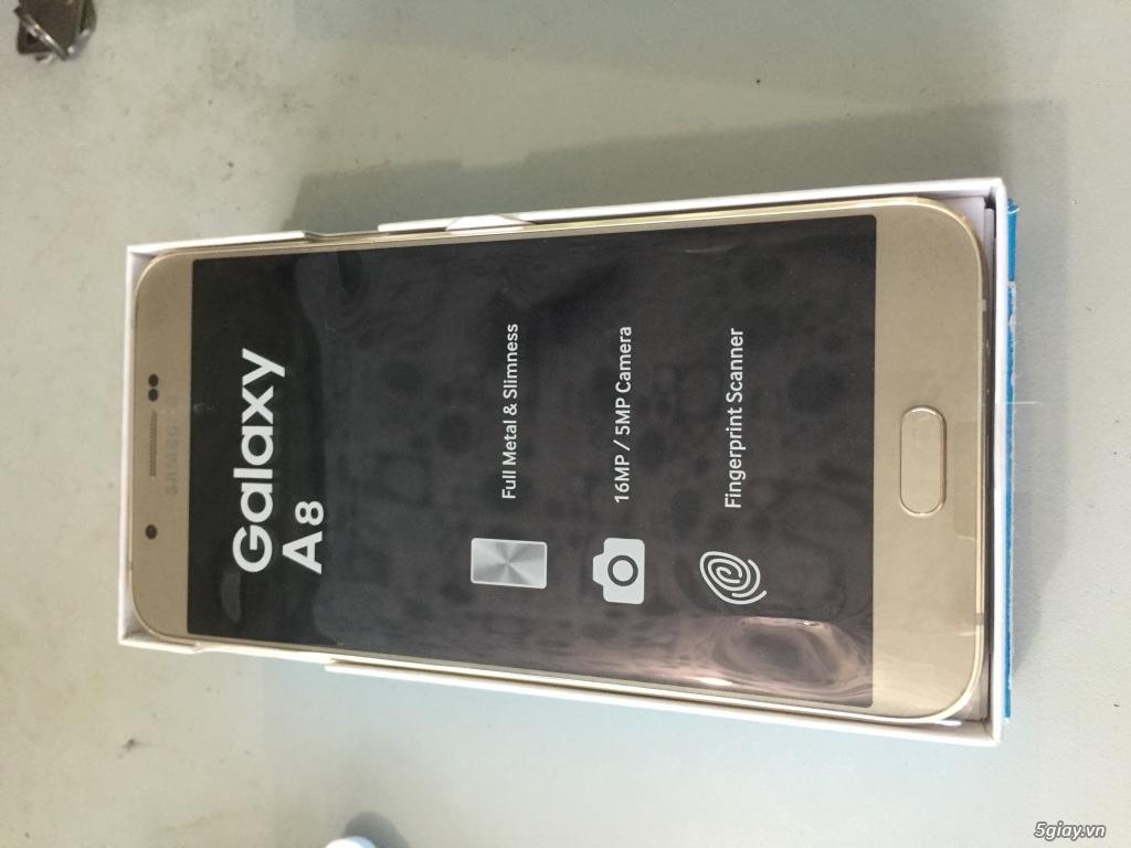 samsung Galaxy A8 mới 100% - 3
