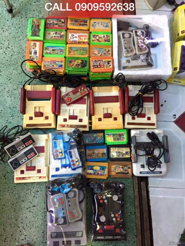 Máy Game Điện Tử Băng 4 nút Nhật , Thái, Đài Loan hàng cổ ngày xưa,có lun băng game, nes, snes, n64 - 6