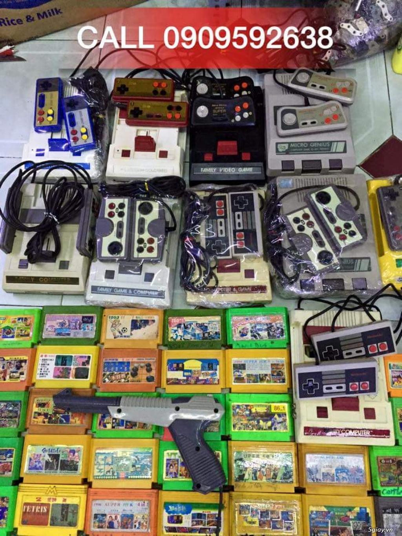 Máy Game Điện Tử Băng 4 nút Nhật , Thái, Đài Loan hàng cổ ngày xưa,có lun băng game, nes, snes, n64 - 18