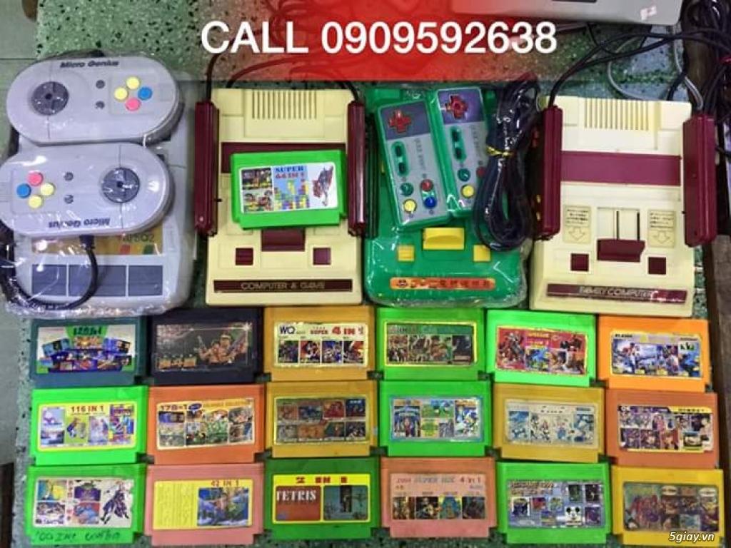 Máy Game Điện Tử Băng 4 nút Nhật , Thái, Đài Loan hàng cổ ngày xưa,có lun băng game, nes, snes, n64 - 4