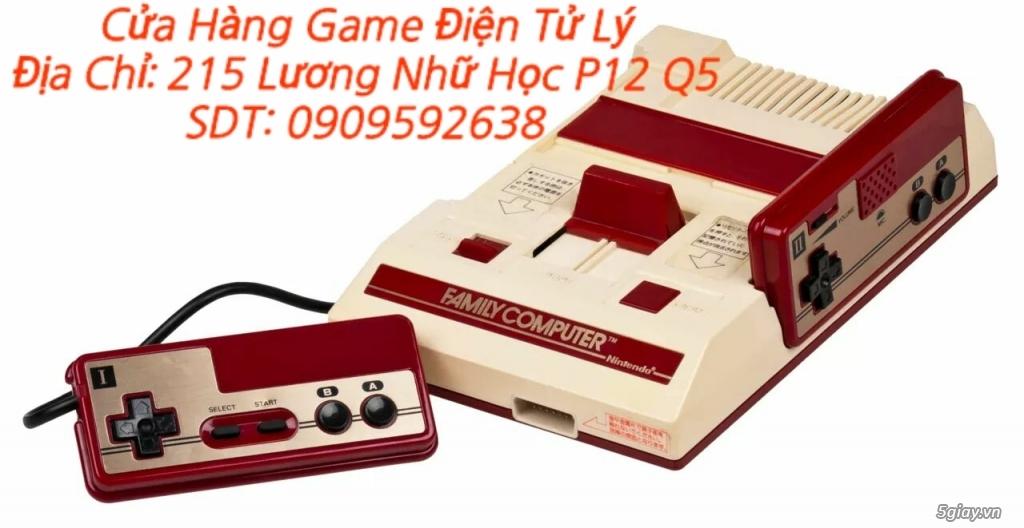 Máy Game Điện Tử Băng 4 nút Nhật , Thái, Đài Loan hàng cổ ngày xưa,có lun băng game, nes, snes, n64 - 11