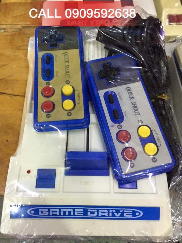 Máy Game Điện Tử Băng 4 nút Nhật , Thái, Đài Loan hàng cổ ngày xưa,có lun băng game, nes, snes, n64 - 9