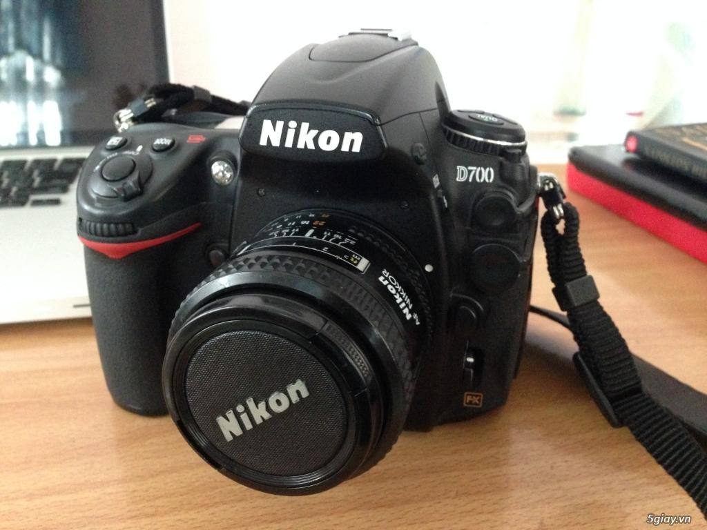 nikon D700 ,len 85f1.4AIS,len 35f2D xách tay Nhật - 4