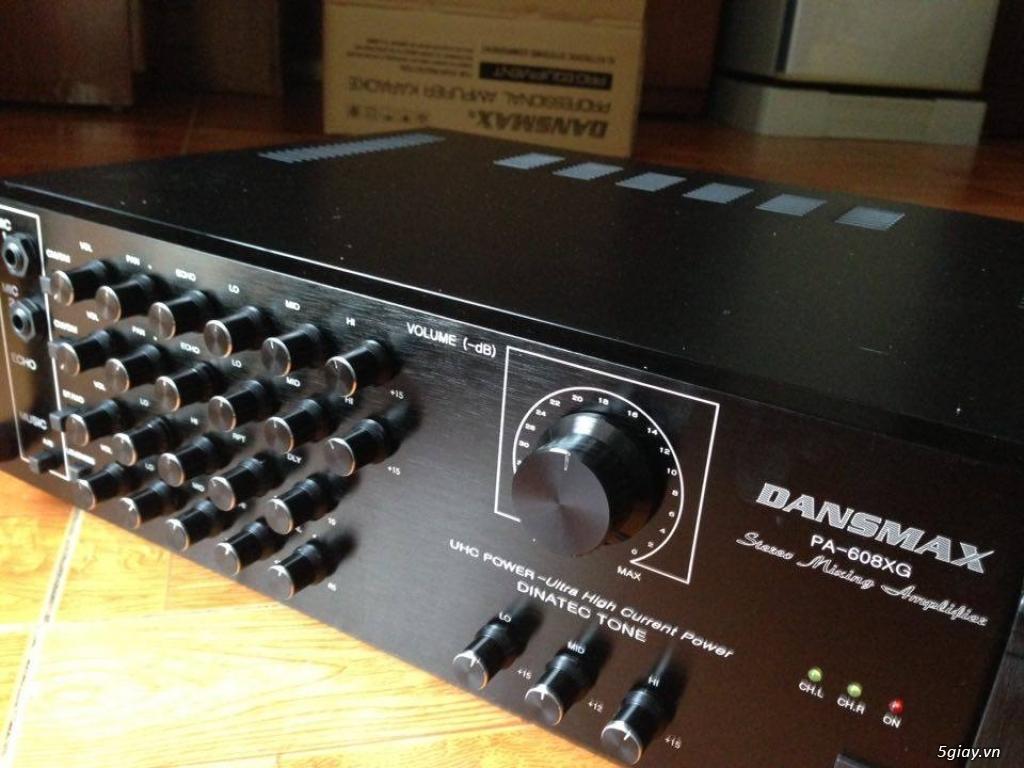 Amply Dansmax 12 sò 500W, Jarguar PA -203N giá rẻ Chính Hãng bảo hành 12 tháng đổi mới.