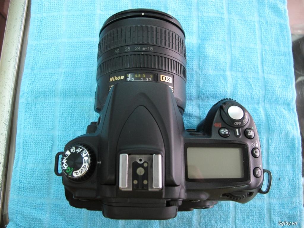 Nikon D90 hàng xách tay mỹ mới trên 97%. - 7