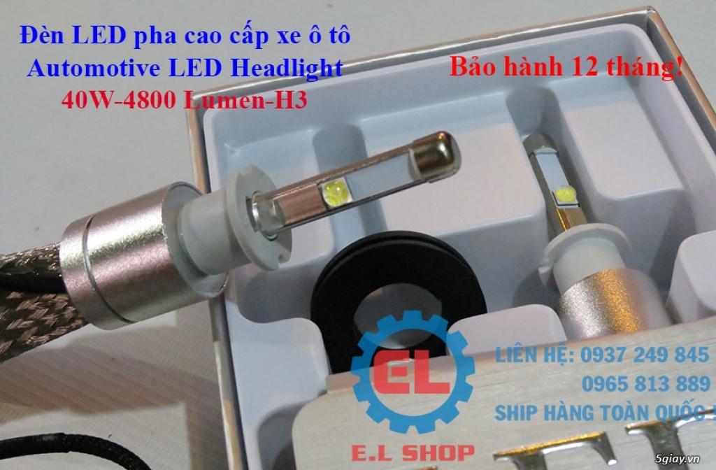E.L SHOP - Đèn Led siêu sáng xe ô tô: XHP70, XHP50, Philips Lumiled, gương cầu xenon... - 9
